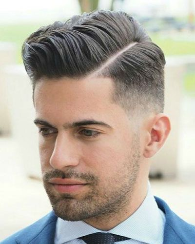 Dapper Shape Up with Hard Part and Fade