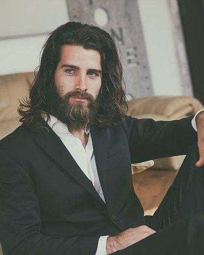Long Hair Long Beard Trimmed