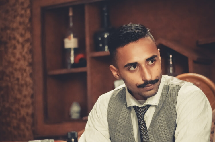 featured image gentleman with mustache
