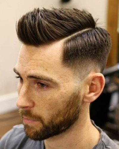 Shape Up with Hard Part and Taper Fade