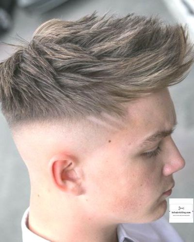 Forward Swept Fringe with Mid Fade
