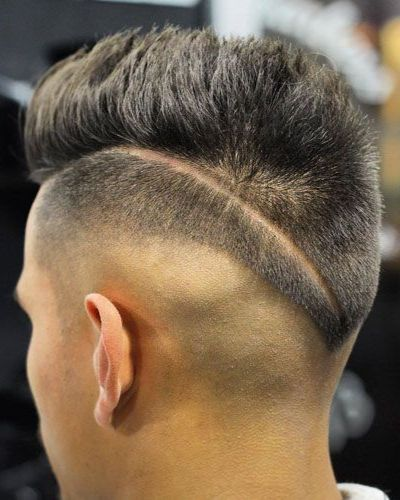 Hard Part All Around with Razor Fade