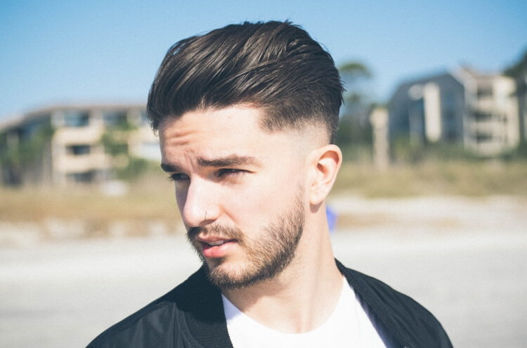 mid fade hairstyle featured image