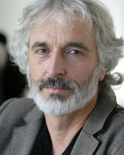 Grey Hair Shag with Grizzled Beard