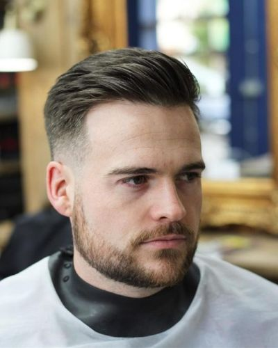 Textured Classic Haircut with Tape Up