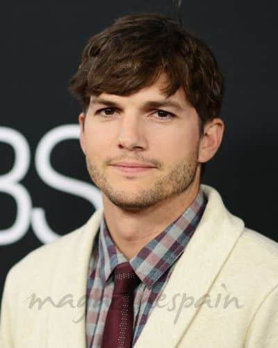 Ashton Kutcher Bangs