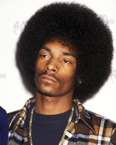 Snoop Dogg Iconic Afro