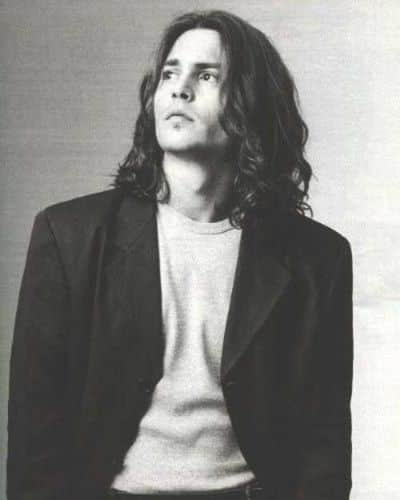Johnny Depp Long Hair