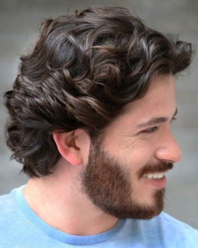Loose Medium Waves with Short Beard