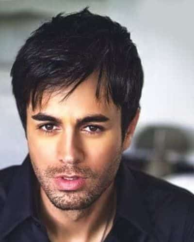 The Enrique Iglesias Gelled Bangs