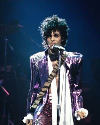 The Beautiful Prince Curly Hairstyle from Purple Rain