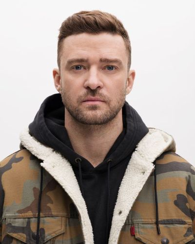 Justin Timberlake's Basic Cut with Stubble