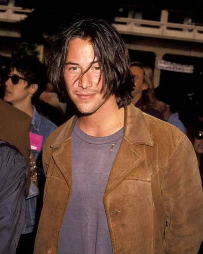 The Long Shaggy Keanu Reeves Bob