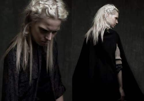 platinum blonde viking style
