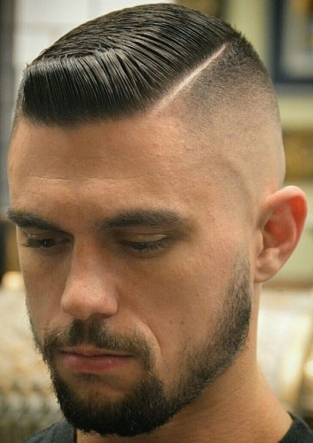 Flat Top Haircuts with Beards