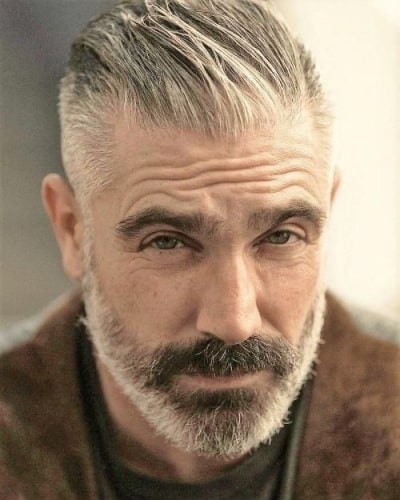 Haircuts for Older Men with Beards