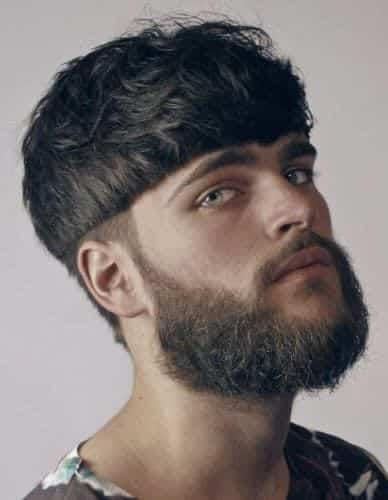 Modern Bowl Cut Hairstyles for Men