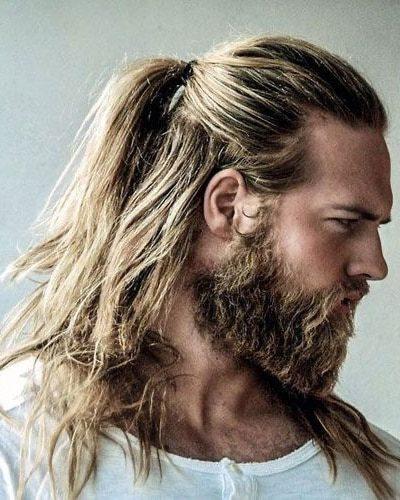 Vikings-Style Hair and Facial Hair