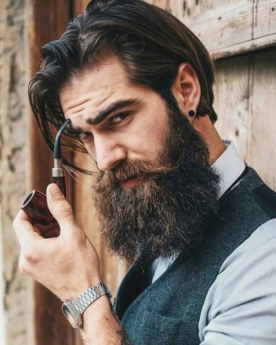 hipster hairstyles for men with beards
